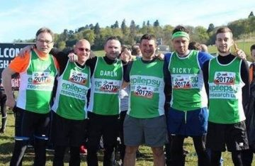 Advanced Maintenance team at Tough Mudder last year raising funds for Pancreatic Cancer Action
