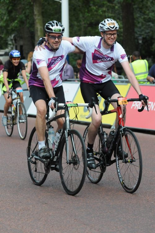 Team Pontefract take on Prudential Ride 100