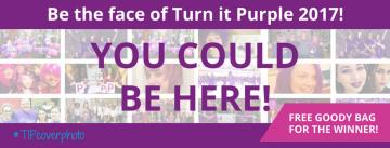 cover photo turn it purple