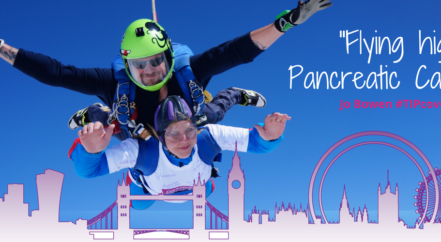 Jo Bowen Flying High for Pancreatic Cancer Action