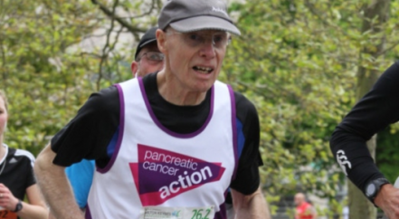 norman whitwood running the marathon
