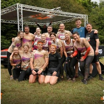 tough mudder for pancreatic cancer
