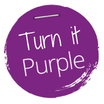 Turn it Purple Logo