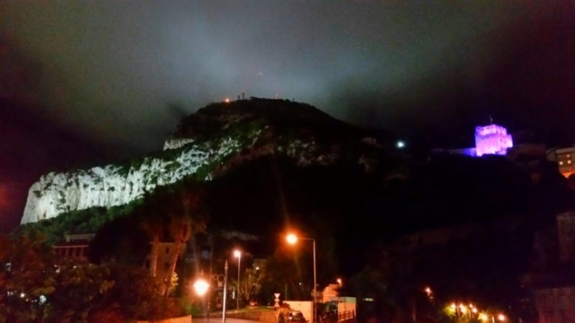 The Moorish Castle in Gibraltar #LightItPurple