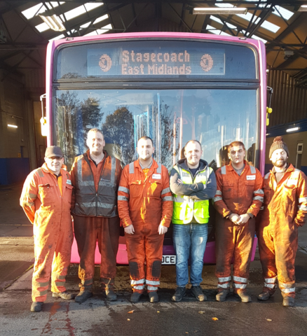 Thank you to Helen SMith and everyone at Stagecoach for taking part in Turn It Purple and raising awareness in the workplace!!
