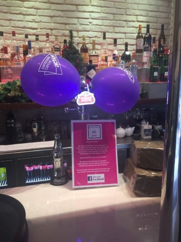 Restaurants in Gibraltar Turn It Purple for Pancreatic Cancer Awareness Month!