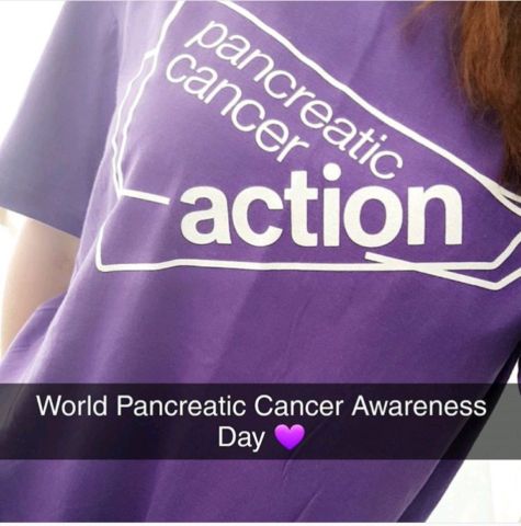 õel Brõadbent After work today I'm doing 30,000 steps in this t-shirt to try and initiate just one conversation about pancreatic cancer. #WPCD