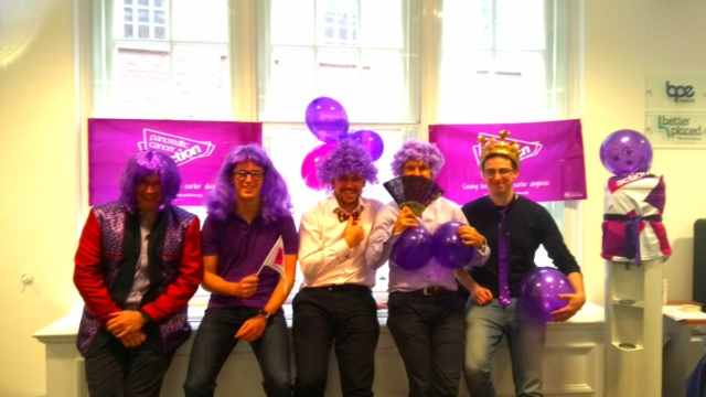 Better Placed Recruitment for taking part in #turnitpurple