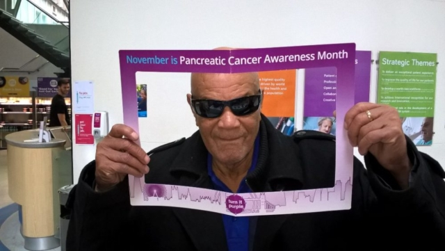 #PCAM International pancreatic cancer awareness day 2017 at The Royal Liverpool Hospital