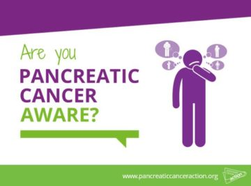 Are you pancreatic cancer aware?