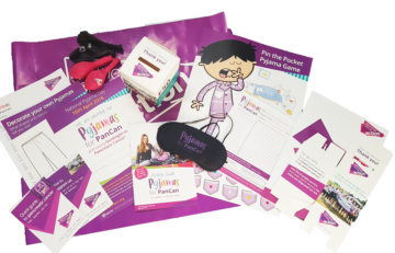 Pyjamas for PanCan, Pancreatic Cancer Action, fundraising pack