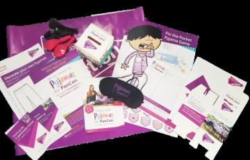 Pyjamas for PanCan, Pancreatic Cancer Action, fundraising pack