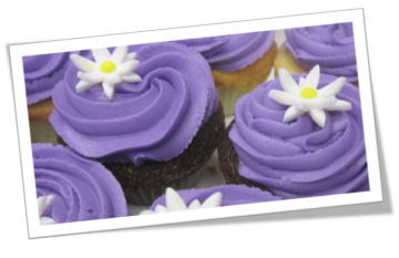 Valentine's day Bake a change cupcakes for pancreatic cancer action