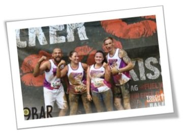 Valentine's day sign up to tough mudder for pancreatic cancer