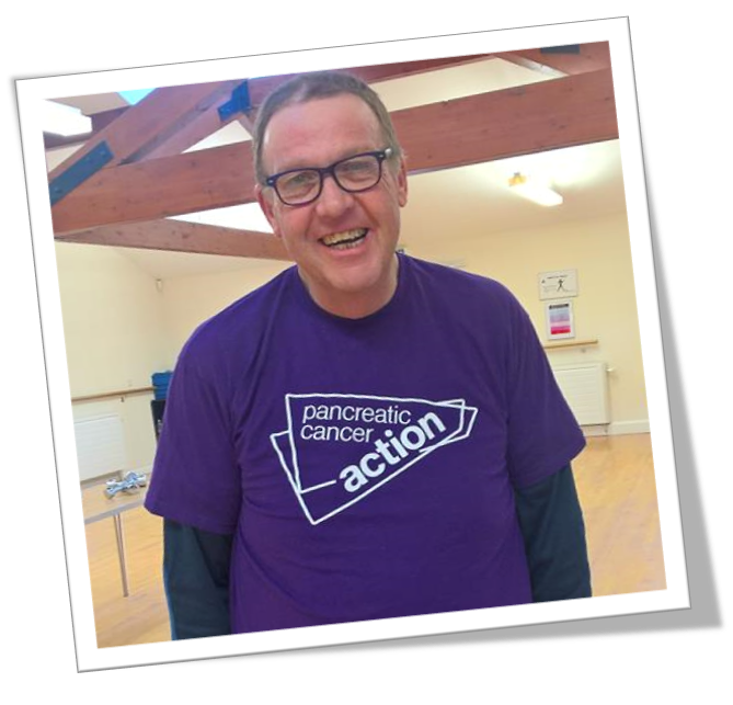 Chris Norkett will be taking part in six marathons this year for Pancreatic Cancer Action
