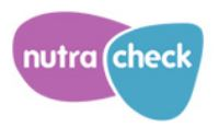 An icon for NutraCheck, the NHS tool for measuring calories to help with nutrition and physical activity