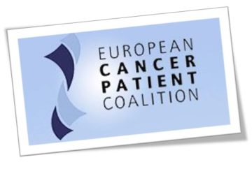 An icon for the European Cancer Patient Coalition who provided information on nutrition and physical activity