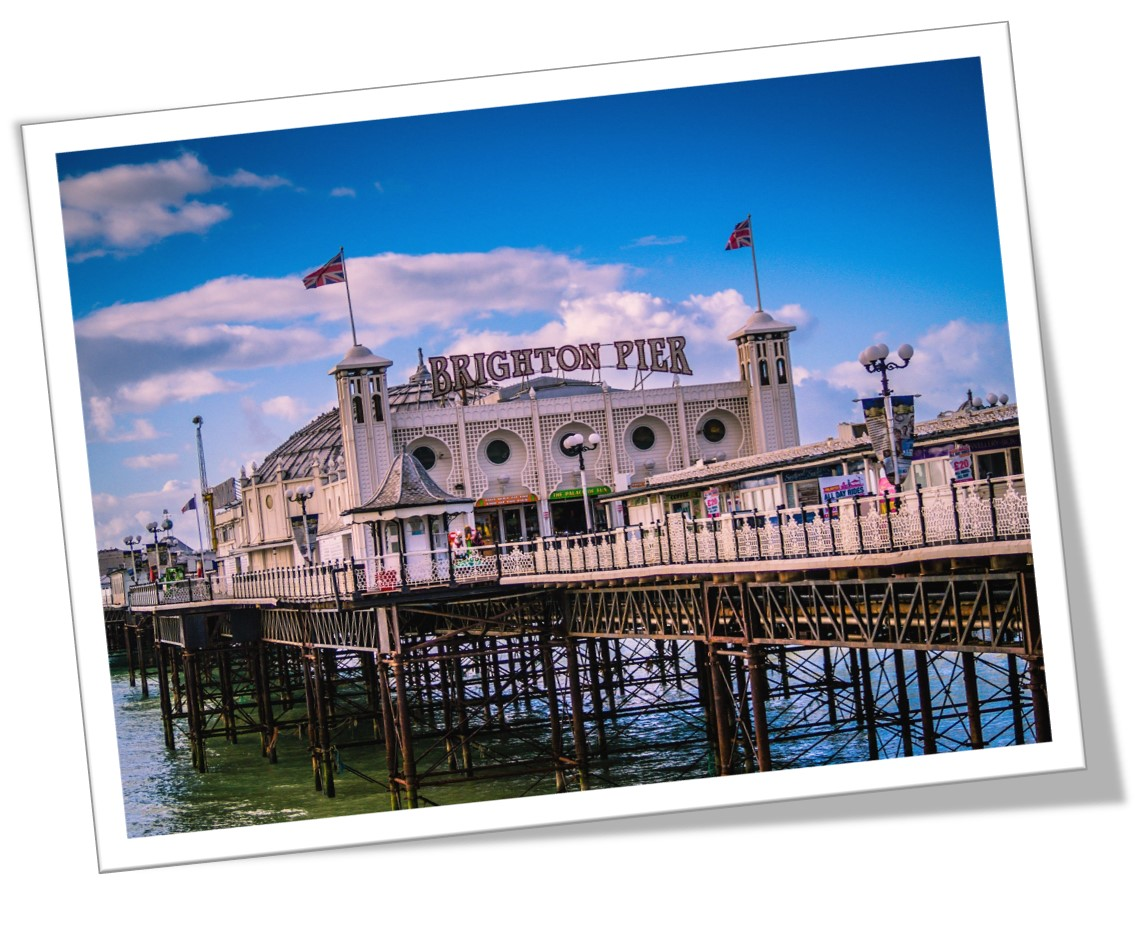 A picture of Brighton Pier, where Steve Pitman will be running the Brighton Marathon