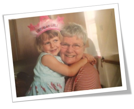 A picture of Steve Morton's mother-in-law, who sadly passed away from pancreatic cancer