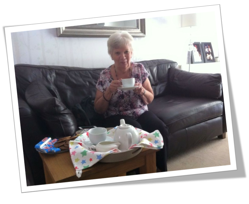 A picture of Stephen Dell's Auntie Carole, who sadly passed away from pancreatic cancer.