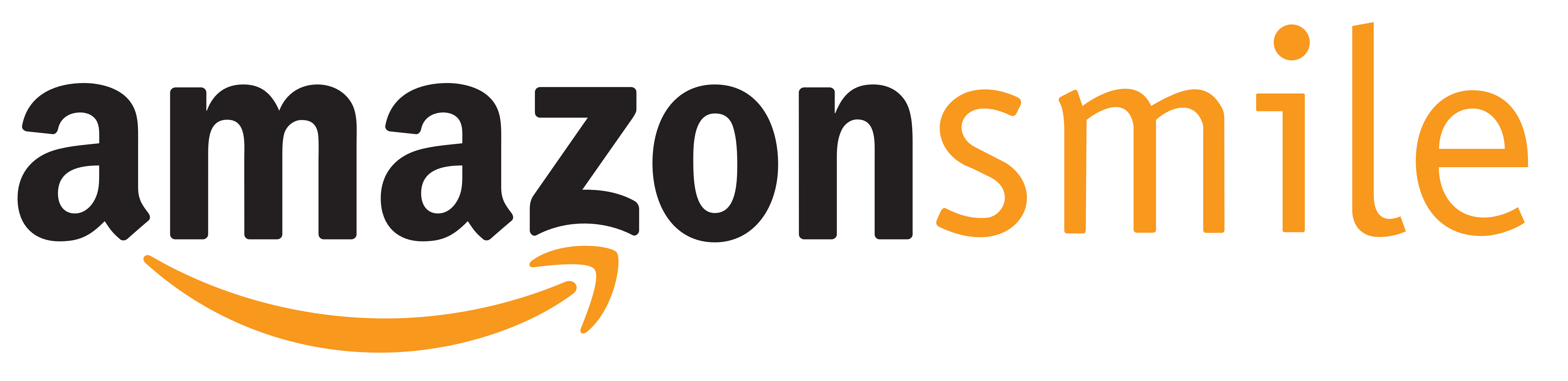 The AmazonSmile logo