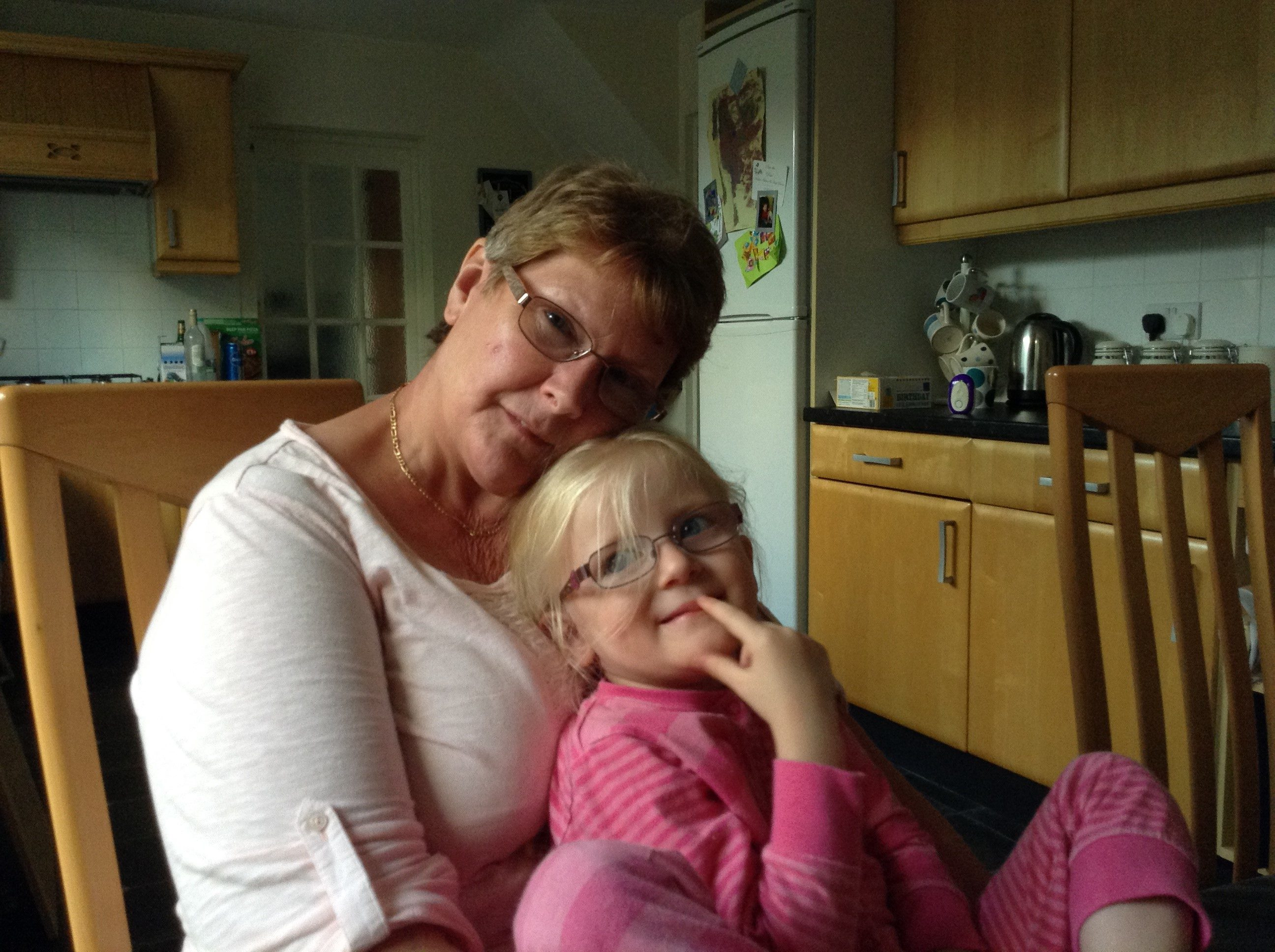 A picture of Jean and her granddaughter for Share Your Story month