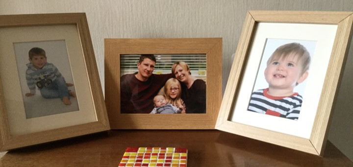 A picture of Jean's family for Share Your Story month