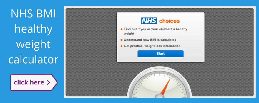 An image of the BMI calculator which you can click on to take you to an external link for type 2 diabetes by 2045