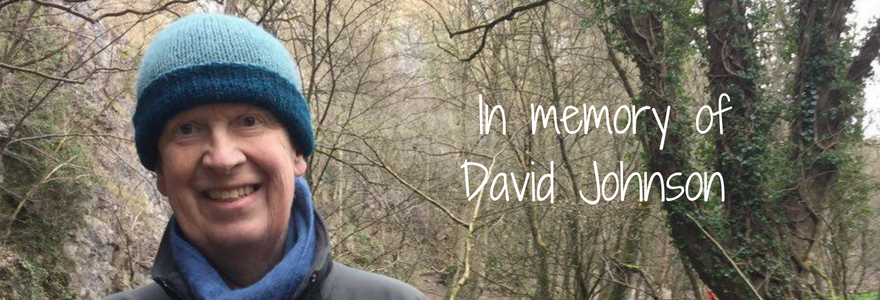 a picture of David, who Jess is walking 32 miles in one day in memory of