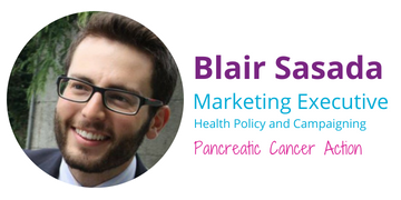 The APPG on PC article was written by Blair Sasada, Pancreatic Cancer Action