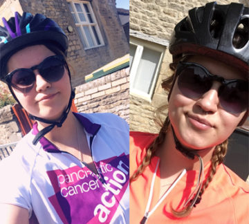 Yolanda cycles 100 miles for Pancreatic Cancer Action