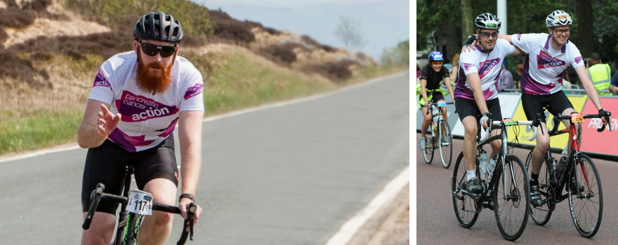 Cycling for TeamPCA this summer