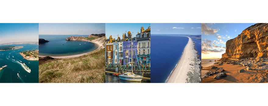 Stunning views of the Dorset coastline along the Jurassic Coast Challenge route