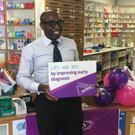 Ade Williams, Pharmacy ambassador