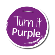 Turn it Purple Badge