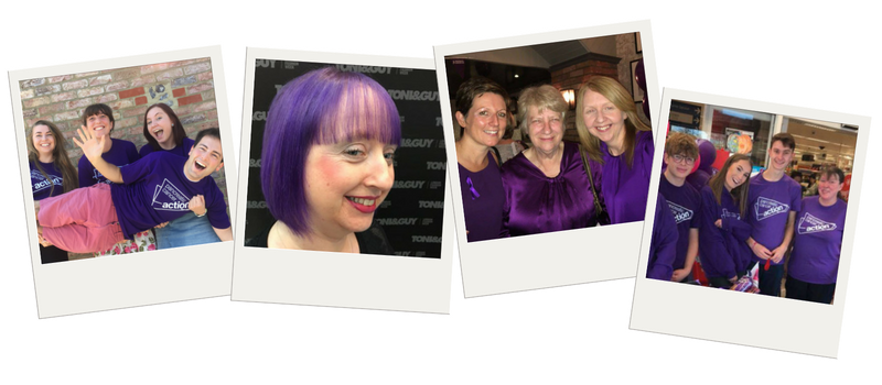 wear it purple for pancreatic cancer action whether at work or school