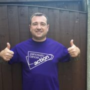 Barry prepares to take on his Snowdon challenge