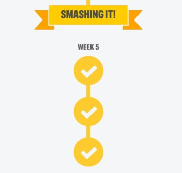 Laurens couch to 5k challenge week 5 achievement