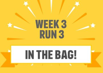 Laurens couch to 5k week 3 completed badge