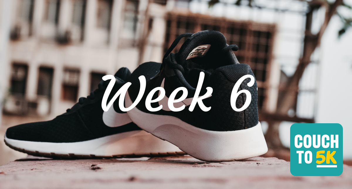 Lauren's Couch to 5k running challenge week 5