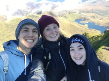 Here is a photo of my boyfriend, my sister and me at the top of Mount Snowdon – something I think I would have struggled doing without my Couch to 5k training!
