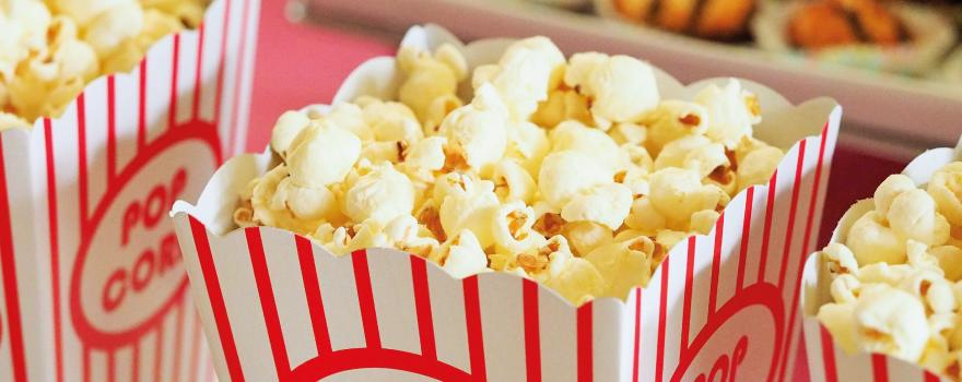 Popcorn tubs