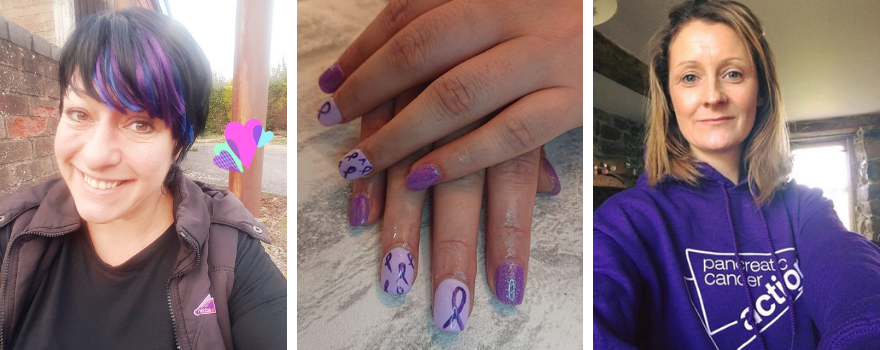 WPCD 2018 PCA supporters wearing purple