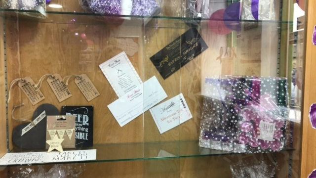 Raffle prizes for Pancreatic Cancer Action's Turn it Purple campaign