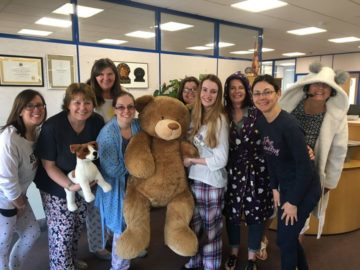 Pyjamas for PanCan with Pancreatic Cancer Action - TH March, Plymouth