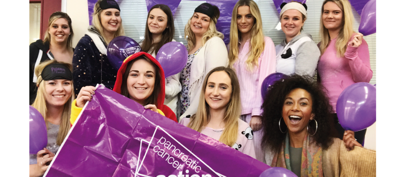 Pyjamas for PanCan with Pancreatic Cancer Action - Searches UK