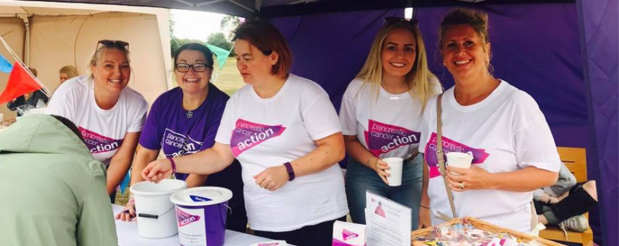 Take Action in 2019 - Hold an awareness stand with Pancreatic Cancer Action.