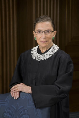 Ruth Bader Ginsburg Taken from: https://commons.wikimedia.org/wiki/File:Ruth_Bader_Ginsburg_official_SCOTUS_portrait.jpg