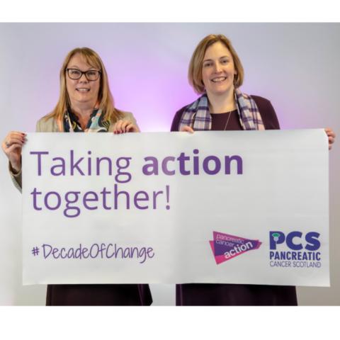 Ali Stunt (PCA) and Fiona Brown (PCS)