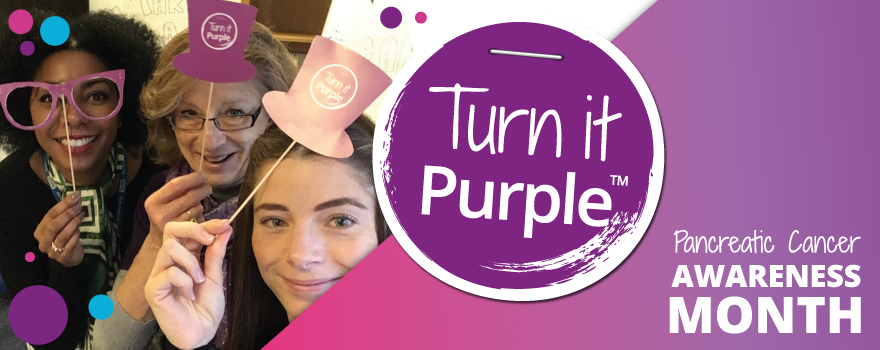 Turn it Purple Cancer Awareness Month